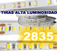 TIRA LED 2835 DE ALTA LUMINOSIDAD